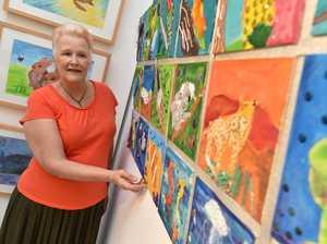 Coast art students unite work in colourful exhibition