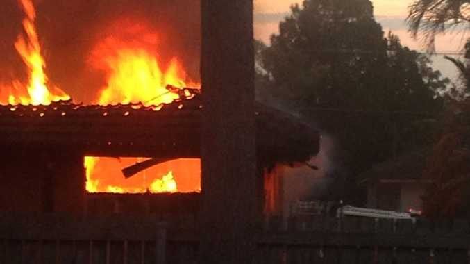 A fire destroyed a house at Gailes overnight.