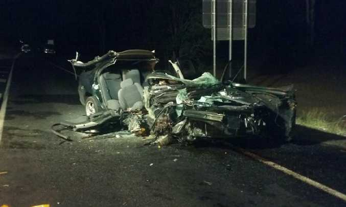 Six patients were transported to Hervey Bay Hospital following a crash in Nikenbah on February 11, just before 10pm.