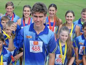 Gympie athletes shine at regional athletics meet