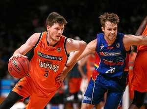 Retiring champ gets Taipans home and into second