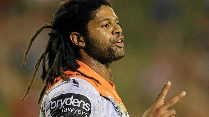 Jamal Idris in his comeback last night.