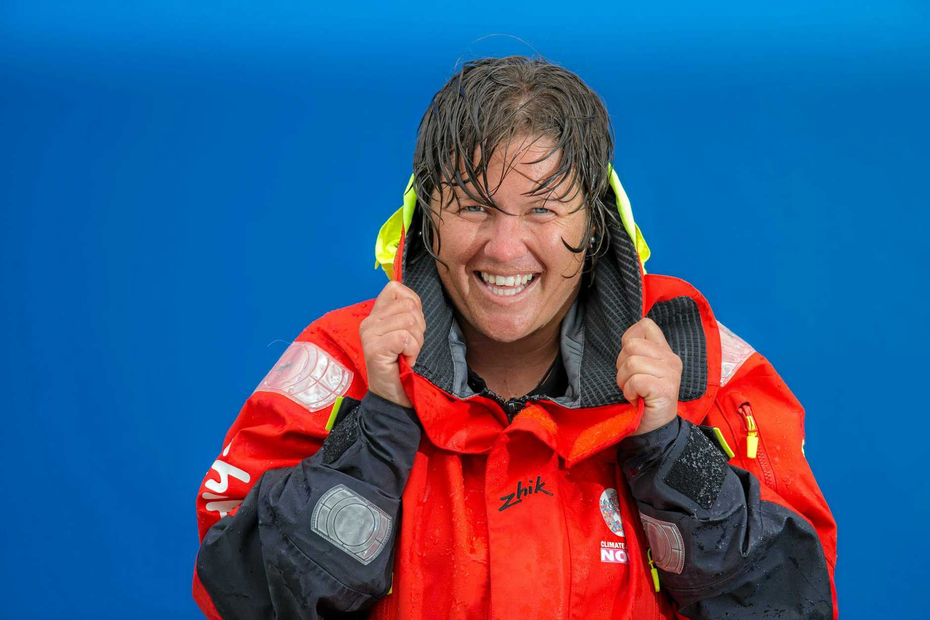 Former Sunshine Coast sailor Lisa Blair is preparing to become the first woman to circumnavigate Antarctica.