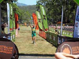 Gardner wins cross triathlon national title, eye on worlds