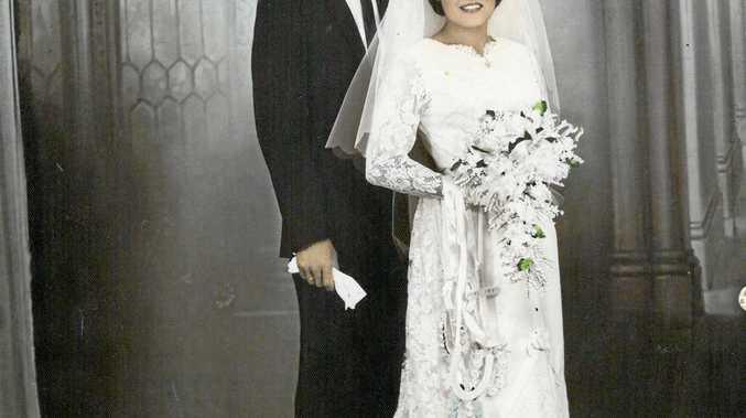 JUBILEE: Merv and Mary Linthwaite were married on February 11, 1967.