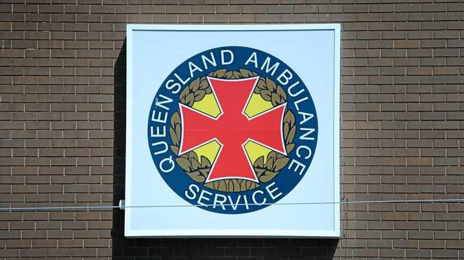An ambulance unit from Warwick was on scene.
