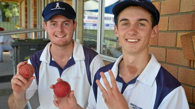 Kieran Bourke took five wickets and Will Gordon a hat-trick in the Maryvale Condamine loss to Redbacks at Slade Park on Sunday.