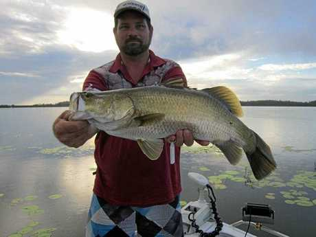 Lionel Saron added to his team's total catch of 178cm with this beauty.