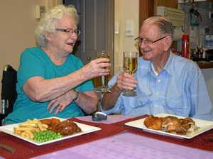 Married couple of 56 years celebrate first Valentine's Day