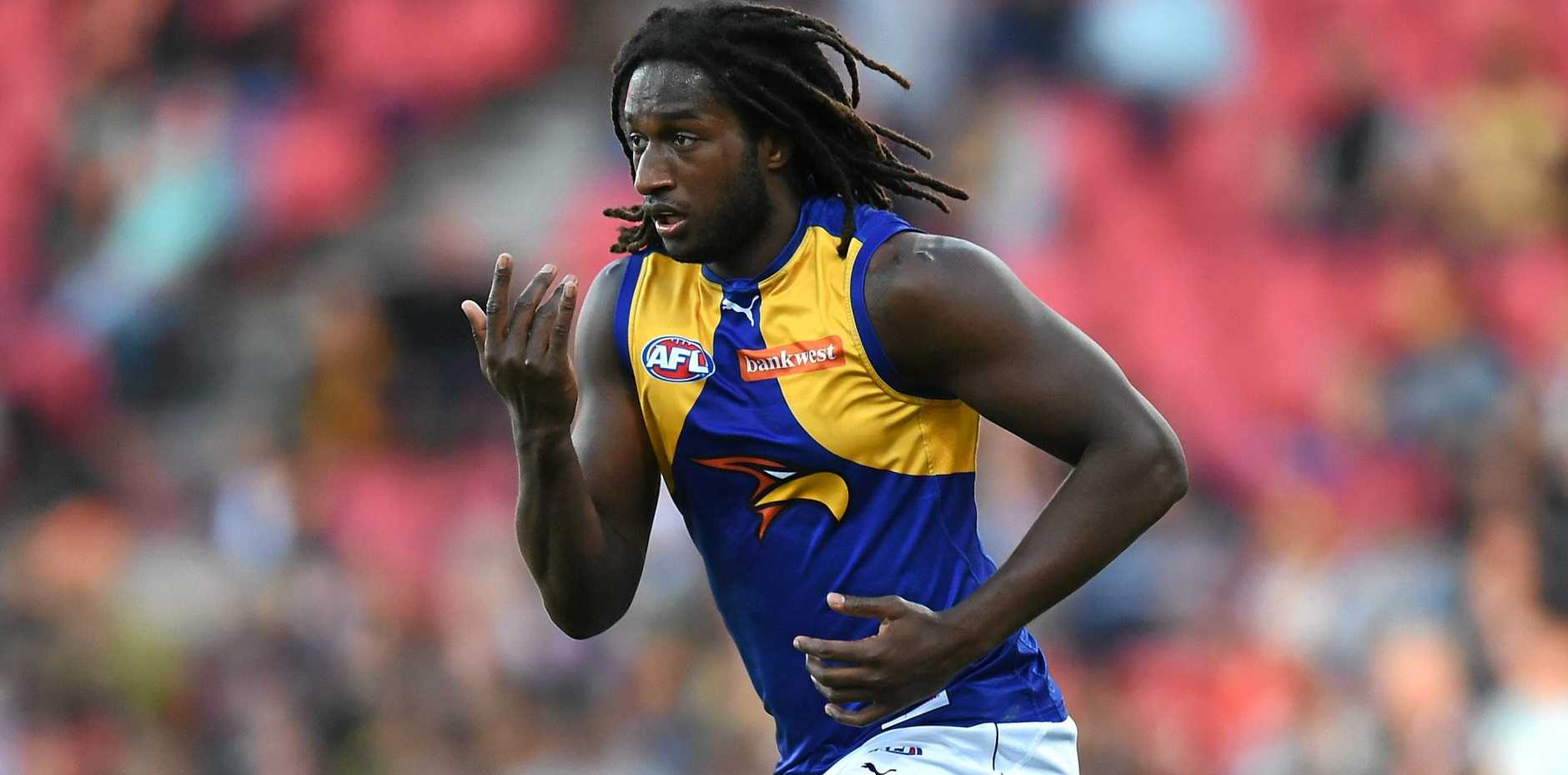 Nic Naitanui is still recovering from a knee injury.