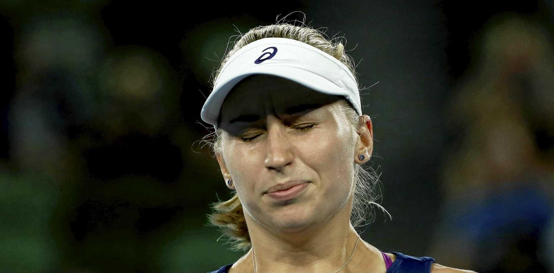 Daria Gavrilova lost both her singles in the Ukraine.