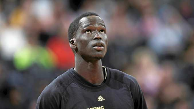 Milwaukee Bucks forward Thon Maker
