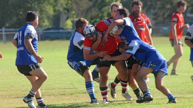 MUSCLE UP: Stanthorpe/Texas were no match for Inglewood on Saturday in the first round of BRL.