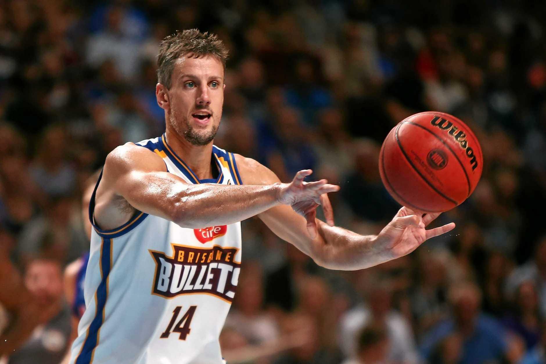 Daniel Kickert of the Brisbane Bullets