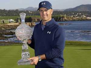 """Boring golf"" takes Spieth to ninth PGA crown"