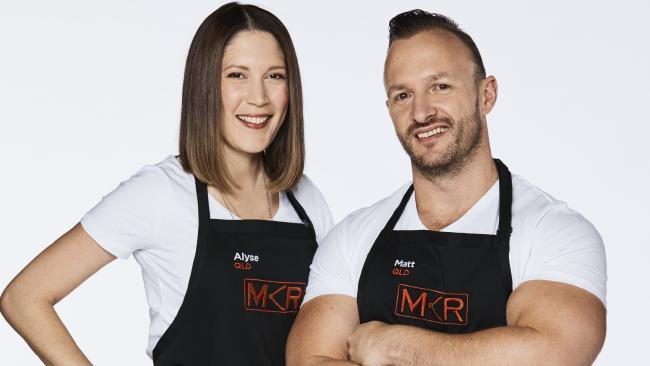 Matt (on the right with the ridiculous arms) made the ultimate gaff on My Kitchen Rules.