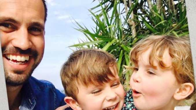 Daddy blogger and widower Lach Searle penned a letter to the