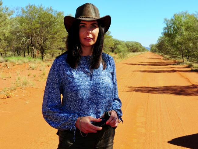 Joanne Lees went back to the Northern Territory's Stuart Highway where she lost her boyfriend forever.