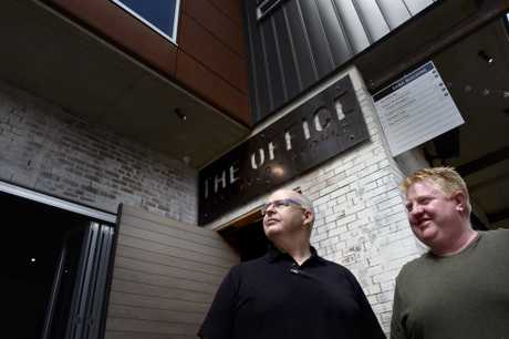 The Office, Duggan Street has been sold to Worldwide Hospitality Group directors Tony Kelly (left) and Scott Hoskins