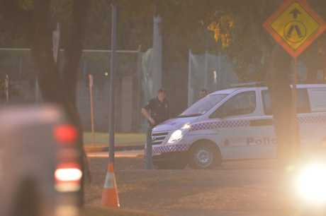 University of Southern Queensland's Clive Berghofer Recreation Centre on Baker St is closed after a police incident.