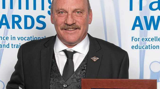 WINNER: One of last year's winners Craig Taylor.