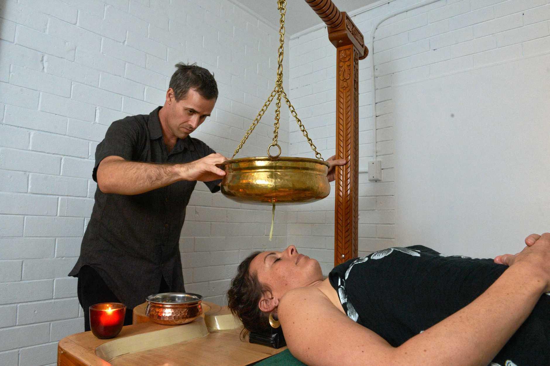 Ayurvedic practitioner Scott Allan at his Buderim Wellness centre. Photo: John McCutcheon / Sunshine Coast Daily