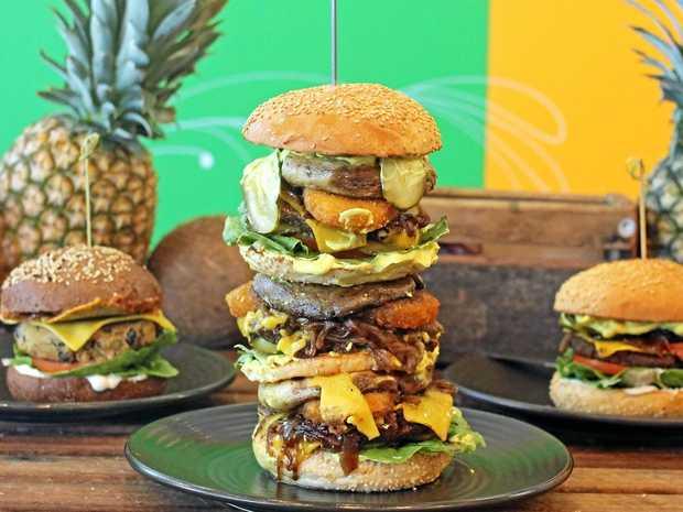 BURGER LOVERS: Moo Free Burgers are bringing their expansive vegan menu to the Coast.