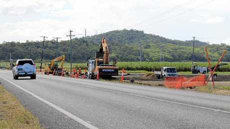TMR started realignment work at Bald Hill Rd between Sugar Shed Rd and south of Cinnamon Dr in November last year, ahead of construction on the ring road.
