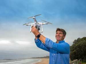 Drones trained to identify sharks and send alerts