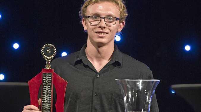 WINNER: Swimmer Jacob Whale