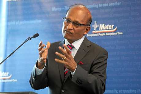 LEADER: Maha Sinnathamby's vision set to take Ipswich forward into new era of prosperity.