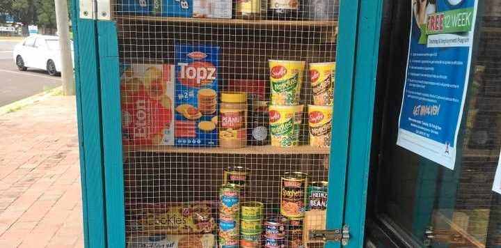 FULLY STOCKED: Bundy residents have overwhelmed Angels Community Group with their support for its Community Cupboard food pantry.
