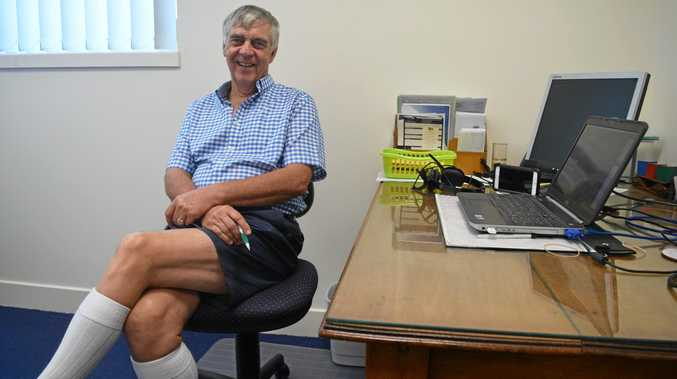 Dr Bill Boyd gave up wearing trousers, a long-sleeve shirt and a tie when he left Adelaide and headed to the tropics.