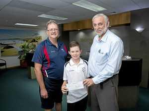 Life member's money helping future golf champ