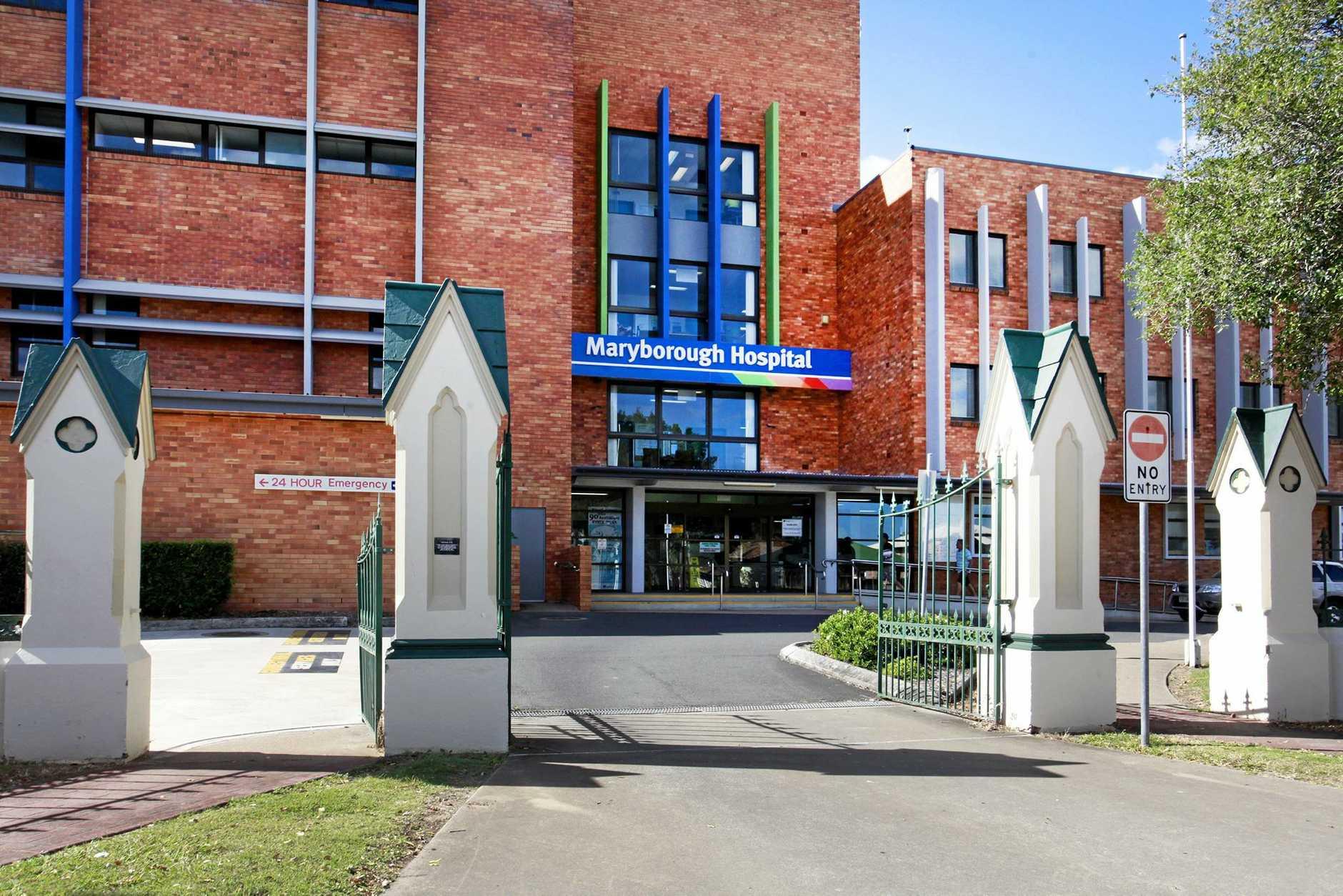 Maryborough Hospital.