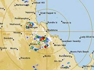113kmh winds as Capricornia weather warning remains