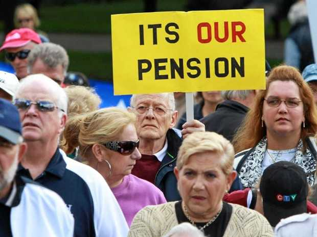 LIVING EXPENSES: What will be become of aged pensions?