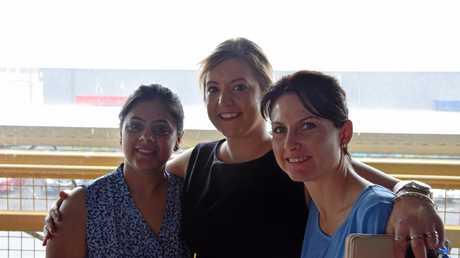 Nikita Lamba, Aimee Peters, Sunita Hill from ANZ Rockhampton.