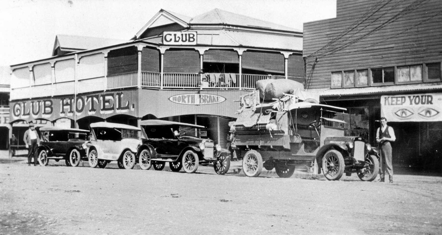 The Club Hotel, circa 1925.