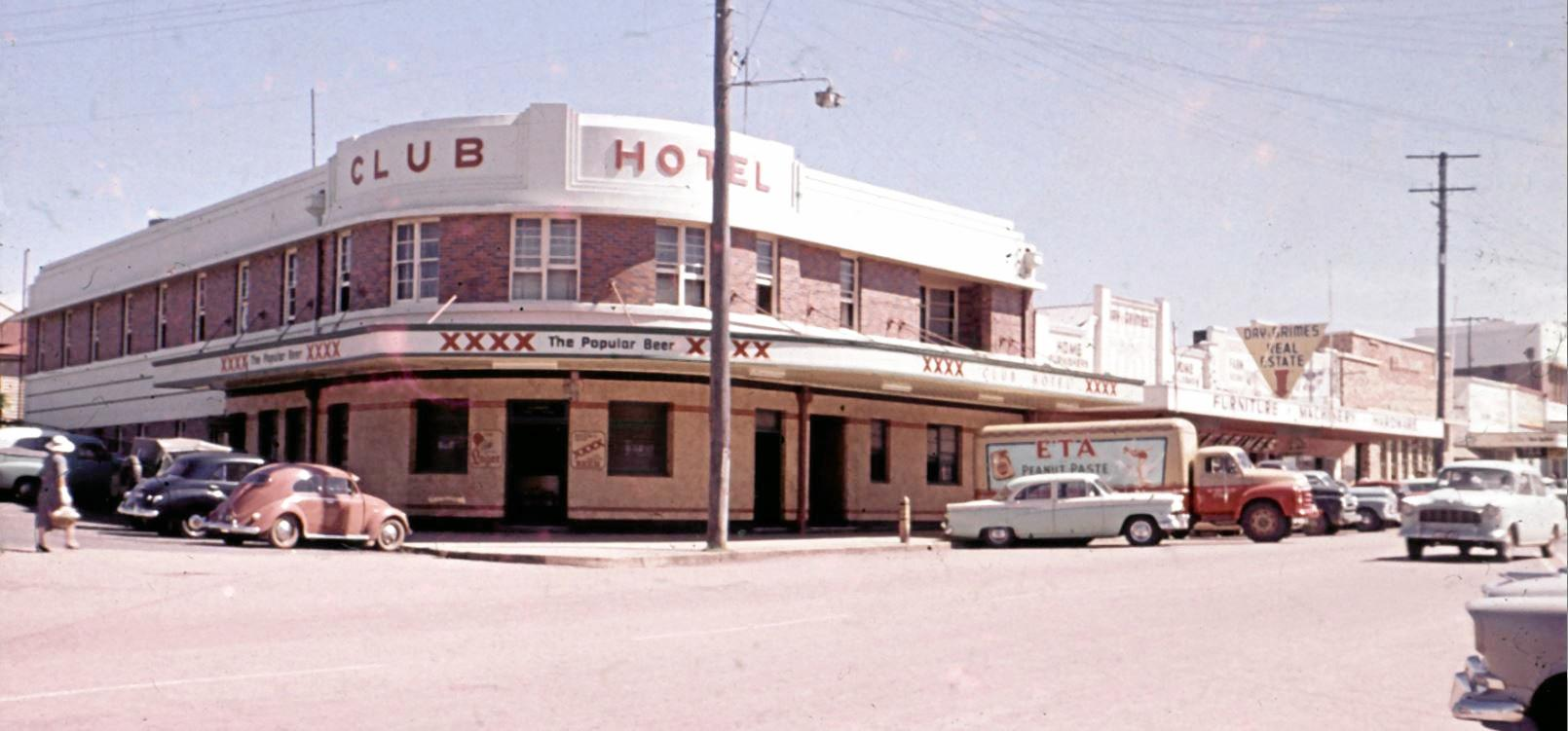The Club Hotel in the 1960s.