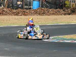 Drivers battle extreme heat at Australian Kart Championships