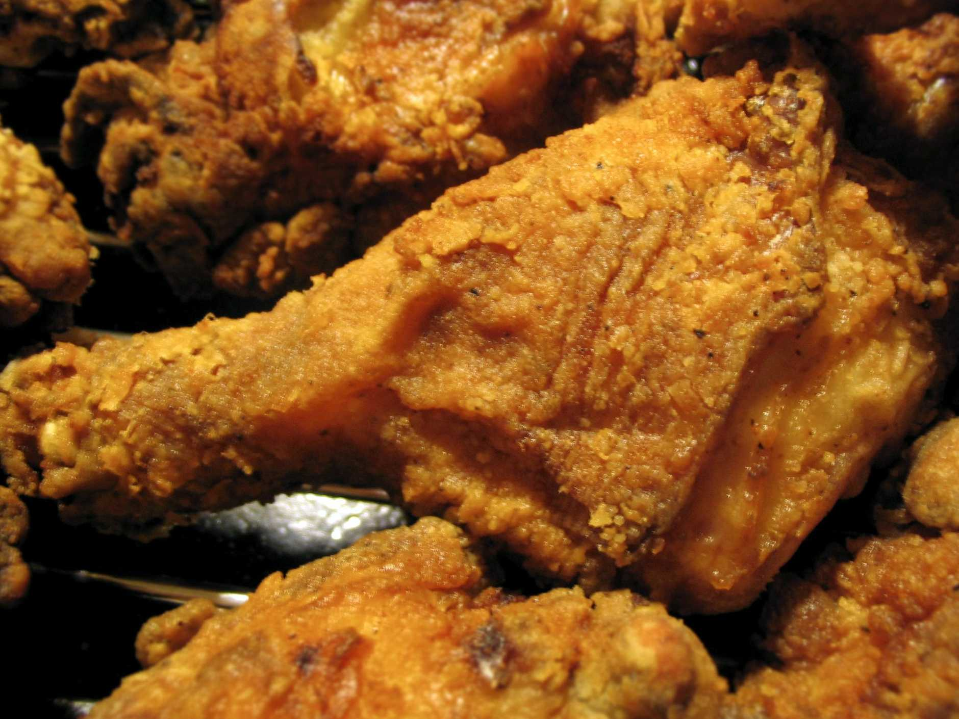 Foods laden in saturated fat, such as fried chicken, have been shown to disrupt the blood barrier which is a complicated system used by the body to get nutrients to the brain.