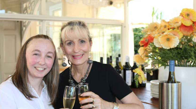 Nicola Garrett and Grace Meyer are looking forward to the third La Bonne Vie luncheon at Gips Restaurant