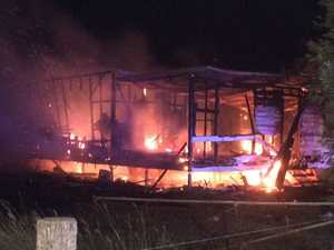 Family loses everything in devastating house fire