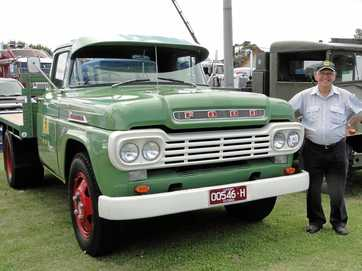 MEMORIES: This Ford is a tribute to Jim Malone's brother.