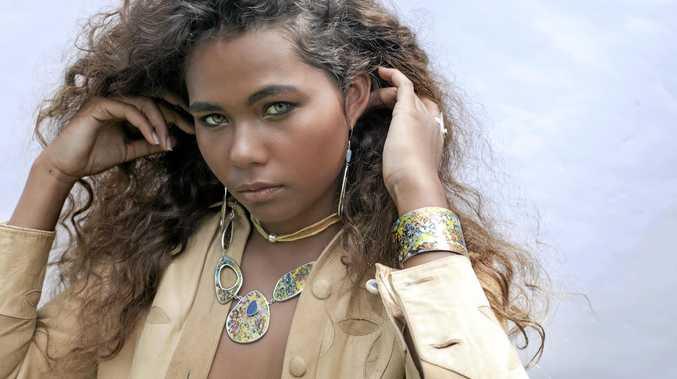 MODEL: Yasmin Honeychurch in a photoshoot for Australian jewellery brand Occulture.