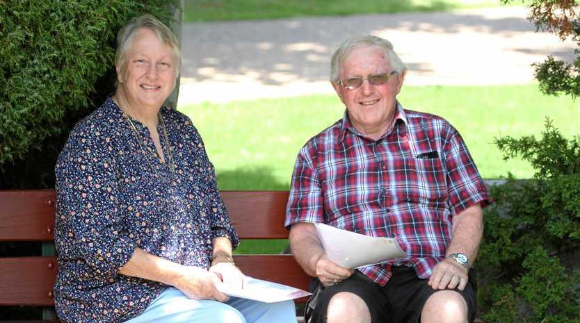 NEW VOICE: Granite Belt Community Association secretary Helen Gibson and president Reverend Alan Colyer.