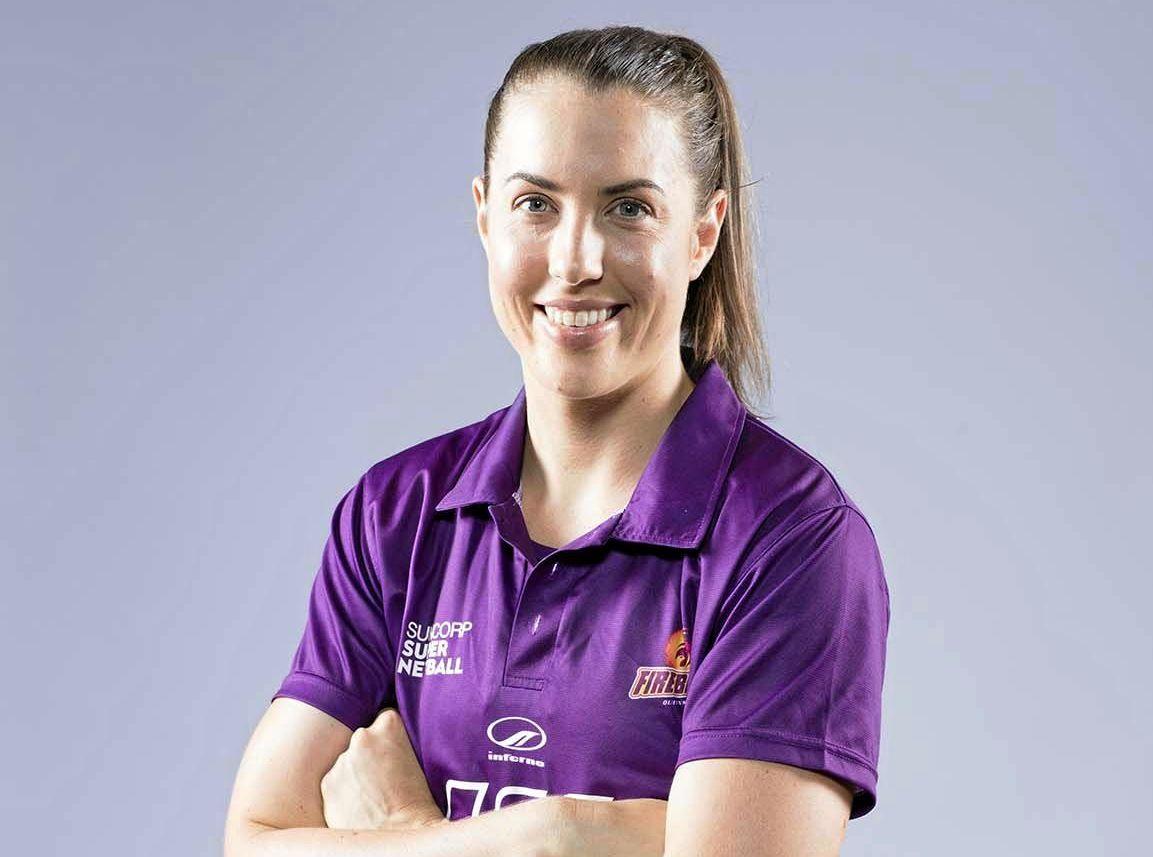 READY: Toowoomba-raised Queensland Firebirds player Laura Clemesha.