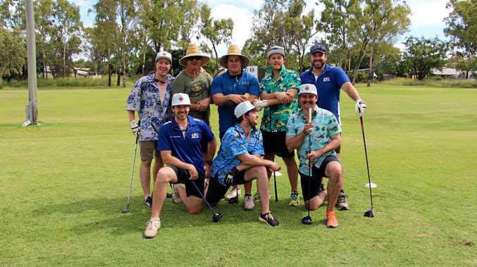 Back left: Mitchell Turner, Brady Cummins, Blake Walker, Corey Douglas, Luke Reynolds, Front: Josh Reynolds, Michael Baker, Brenton Connolly.