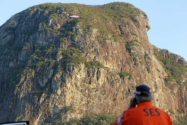 Rescuers were called to Mt Tibrogargan for the second weekend in a row.